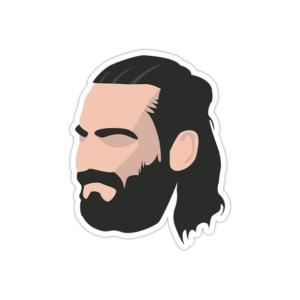 استیکر رپ فارس - هیچکس مو بلند