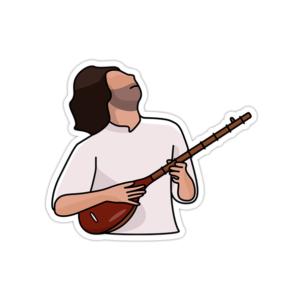 استیکر موسیقی سنتی ایرانی - سهراب پورناظری