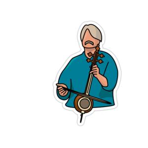 استیکر موسیقی سنتی ایرانی - کیهان کلهر