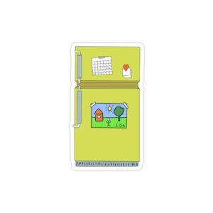 استیکر لپ تاپ مجموعه سیمپسونها - یخچال