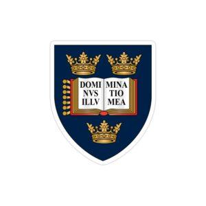 استیکر لپ تاپ استیکر علمی - لوگوی دانشگاه اکسفورد
