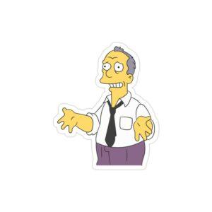 استیکر لپ تاپ مجموعه سیمپسونها - گیل گوندرسون