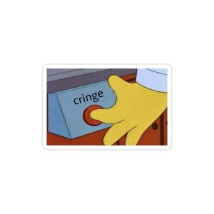 استیکر لپ تاپ مجموعه سیمپسونها - میم سریال