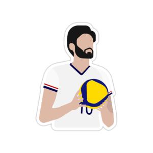 استیکر لپ تاپ تیم ملی والیبال - امیر غفور
