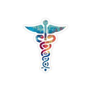 استیکر لپ تاپ استیکر لپ تاپ پزشکی - نماد پزشکی