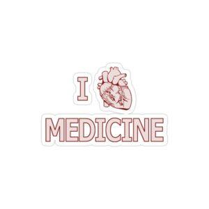 استیکر لپ تاپ استیکر لپ تاپ پزشکی - تایپوگرافی